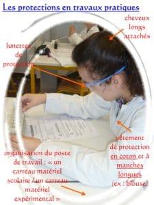 L'Equipement de Protection Individuelle en SVT (montage de Mme Carlier)
